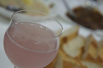 ピンクのすず音で乾杯
