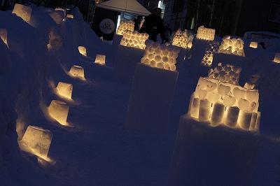 雪あかりの路6