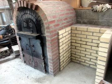 ピザ窯二重に20