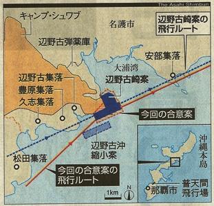 新辺野古崎基地図