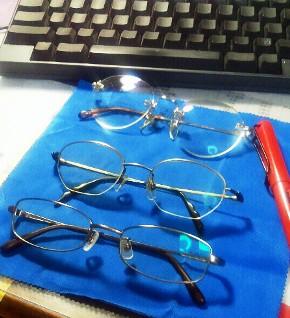 メガネたち