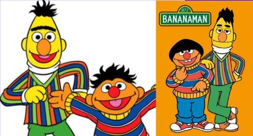 もしもバナナマンがセサミのキャラクターだったら