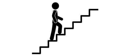 階段は上るよりも下りるほうが筋肉が鍛えられる