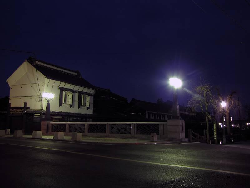 栃木の蔵(夜)