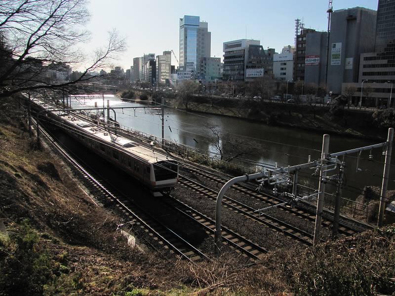 皇居外堀(新見附橋付近)1