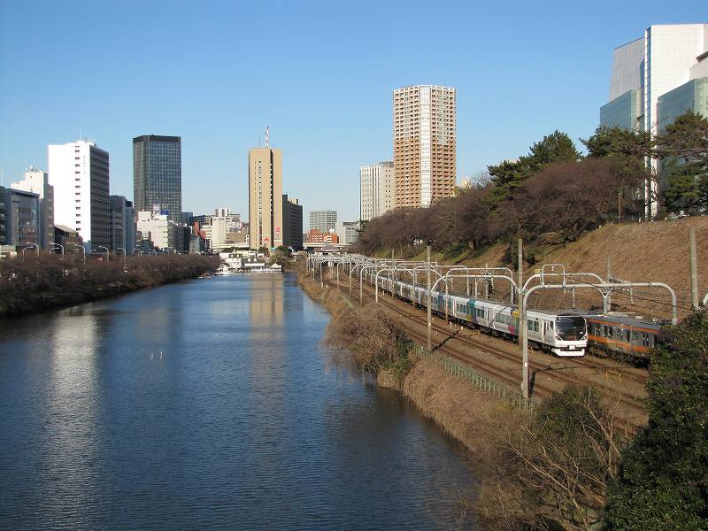 皇居外堀(新見附橋付近)3
