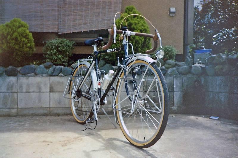 欧州旅行専用自転車1