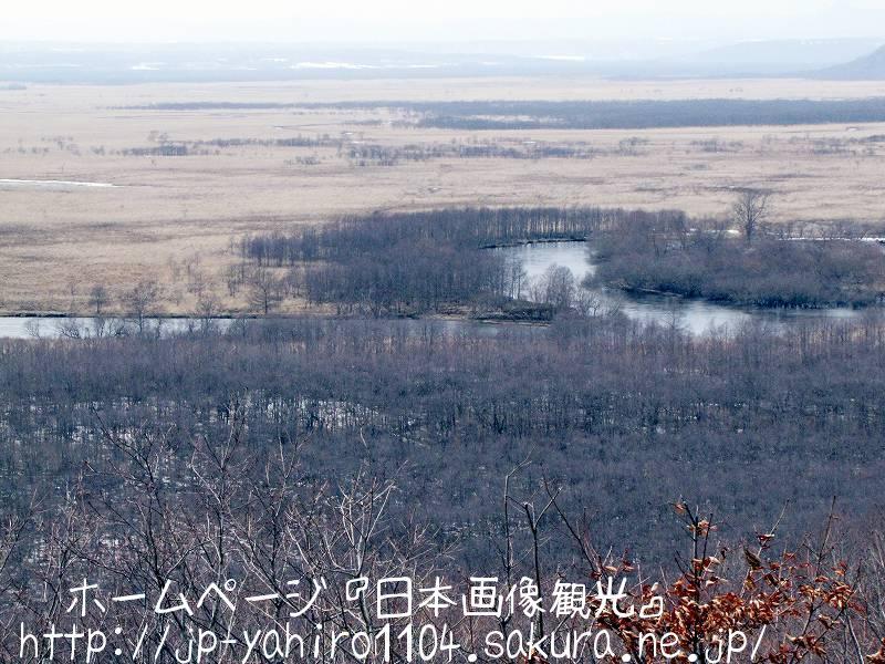 北海道・細岡展望台から見た釧路湿原2