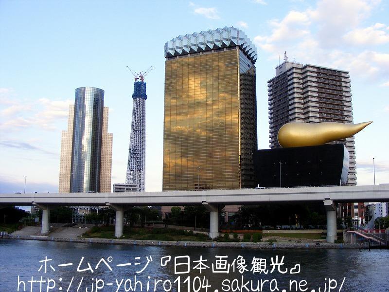 東京・自宅ベランダから見たスカイツリー1
