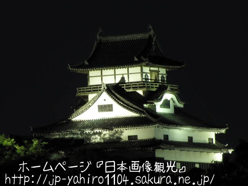 愛知・国宝、犬山城天守閣2
