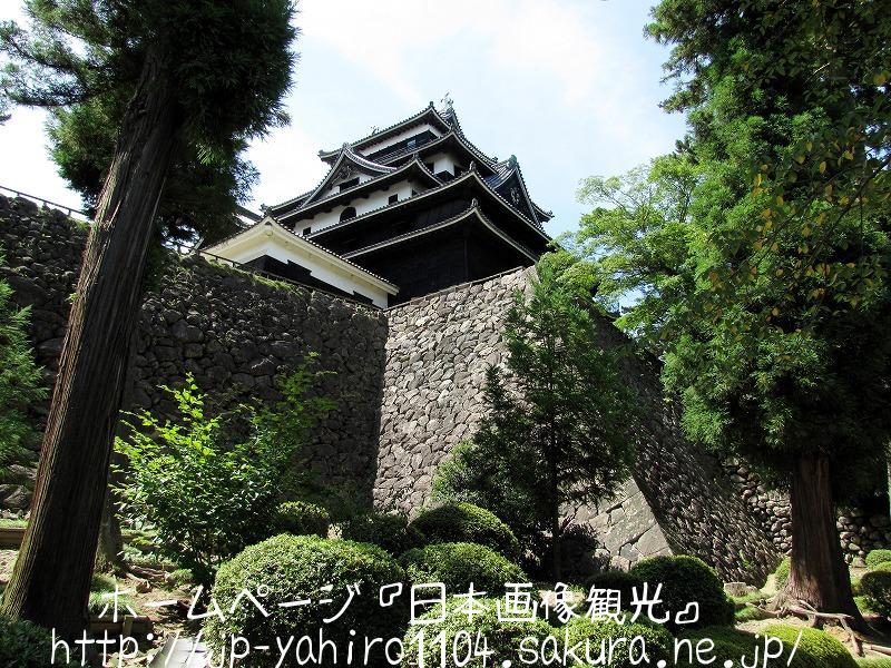 島根県・現存天守の松江城2
