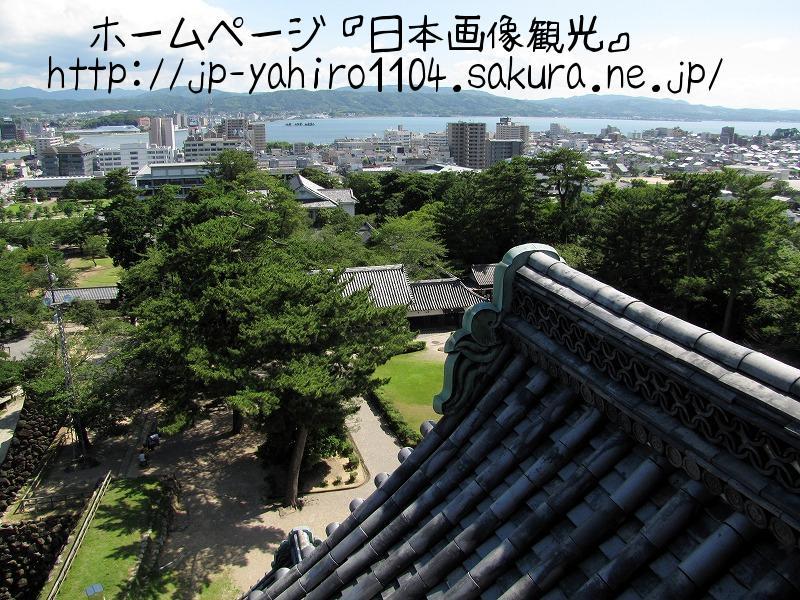 島根県・現存天守の松江城4