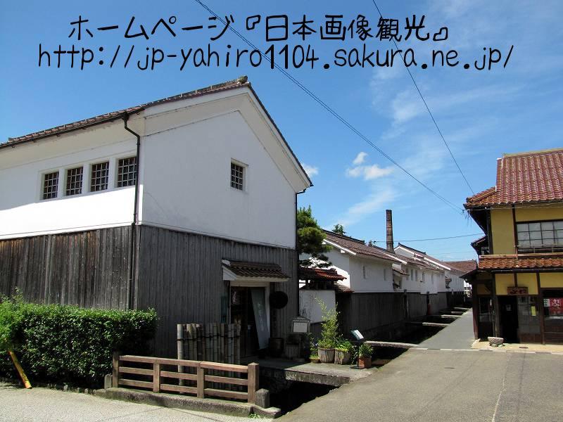 鳥取・倉吉の白壁土蔵群1