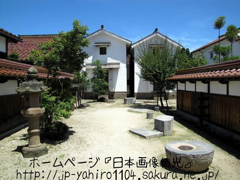 鳥取・倉吉の白壁土蔵群2