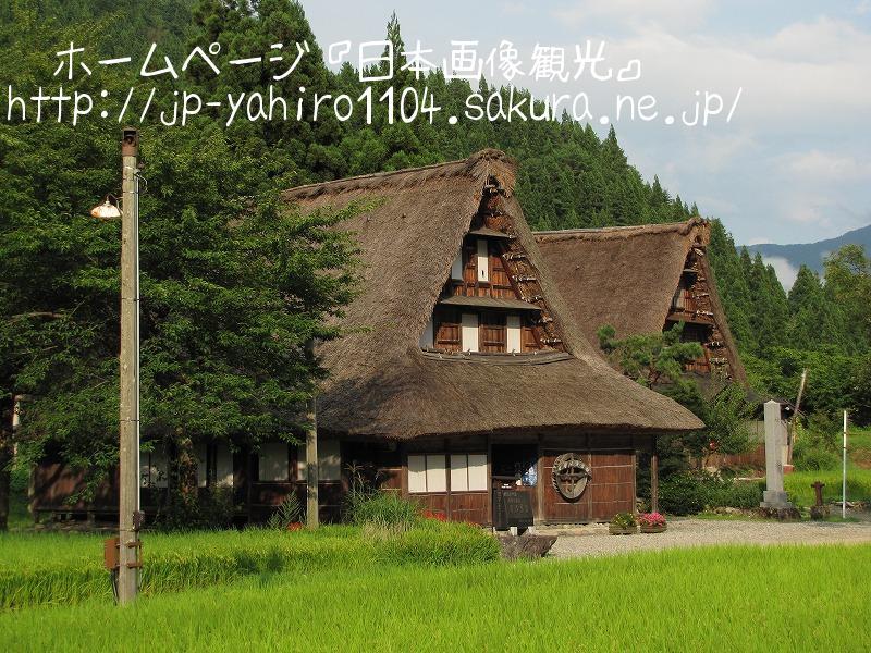 富山・世界遺産、五箇山 菅沼集落の合掌造り2
