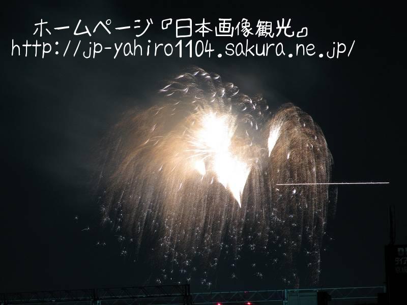 東京・自宅から見た花火(なんの花火大会か不明)3