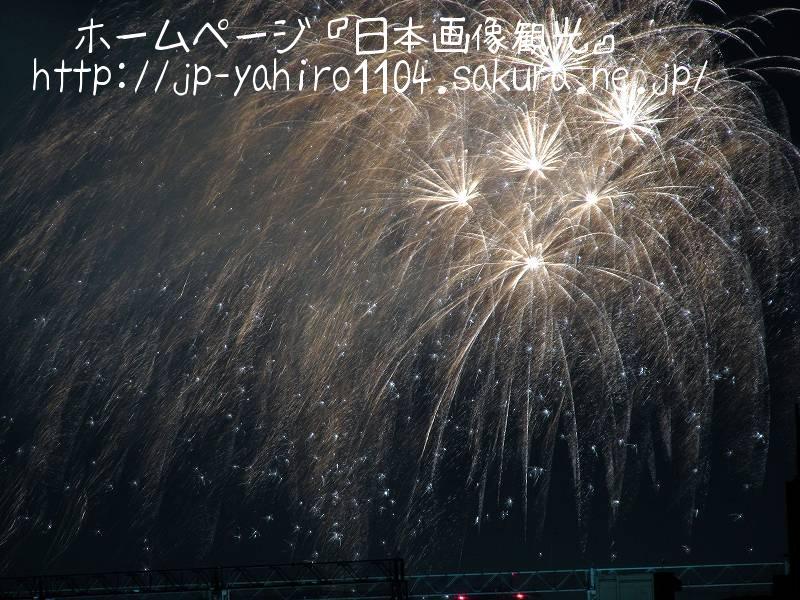 東京・自宅から見た花火(なんの花火大会か不明)4