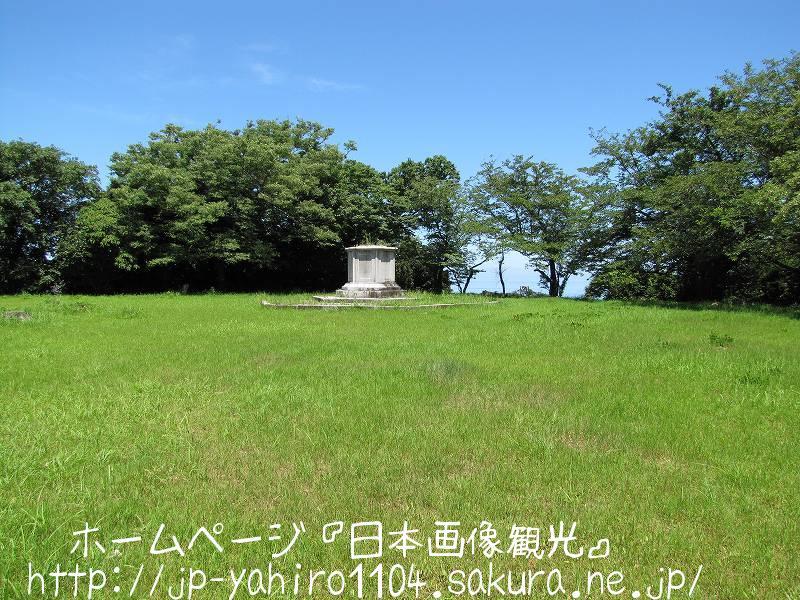 島根・港を見下ろす浜田城跡3