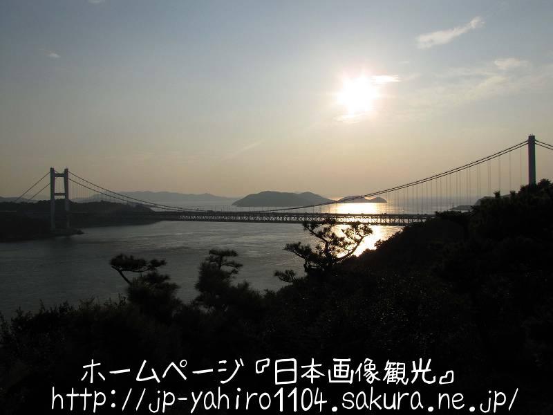 岡山・鷲羽山から見た夕景1