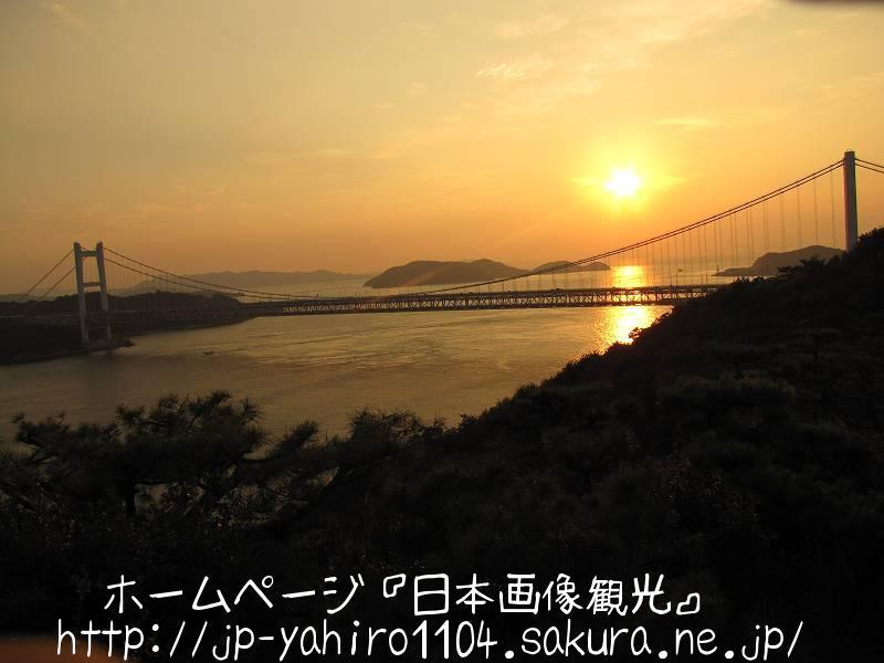岡山・鷲羽山から見た夕景3