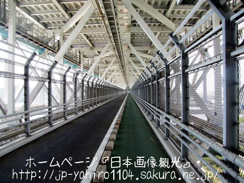 岡山・しまなみ海道、因島大橋の自転車専用道