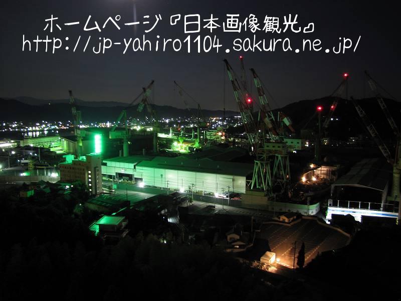愛媛・闇夜に浮かぶ来島海峡大橋3