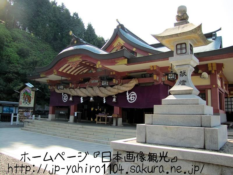 愛媛・しまなみ海道自転車の旅、石鎚神社の本堂