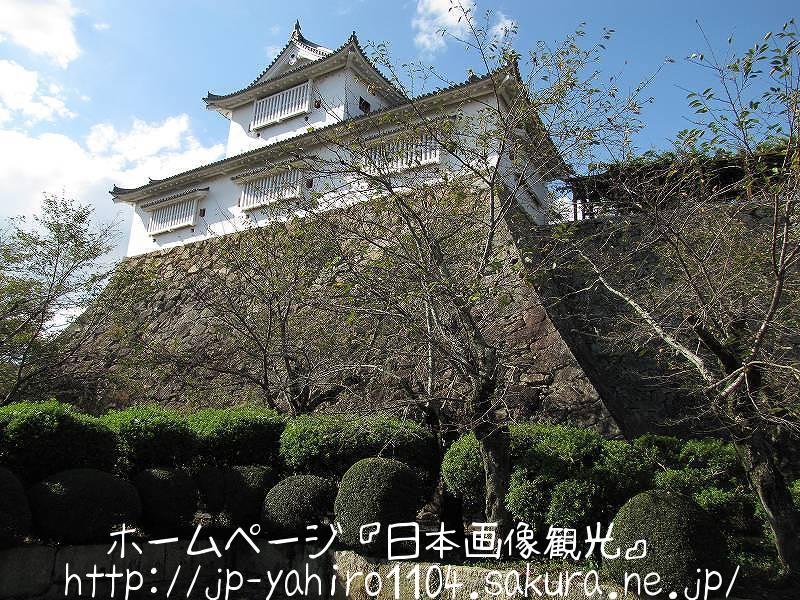 岡山・復元された津山城備中櫓1