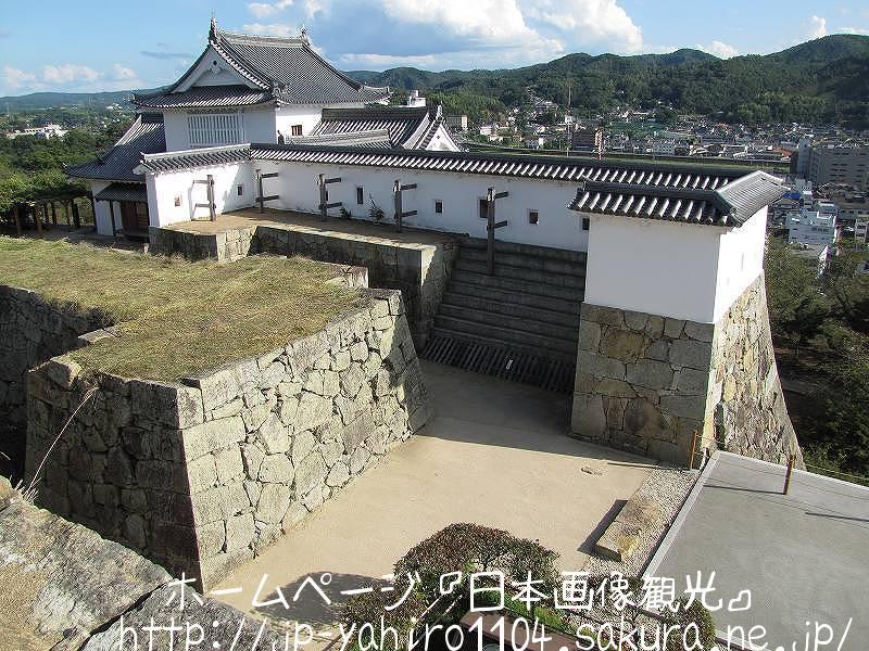 岡山・復元された津山城備中櫓2