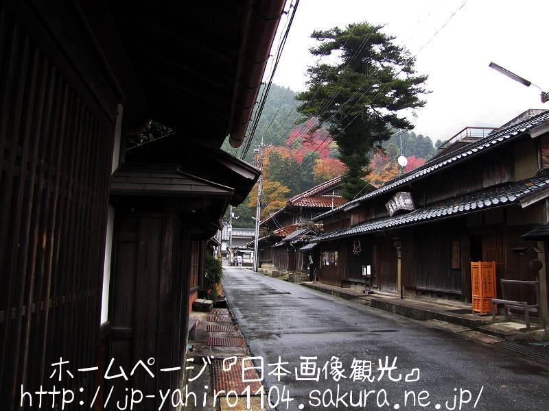 鳥取・智頭宿の町並み2