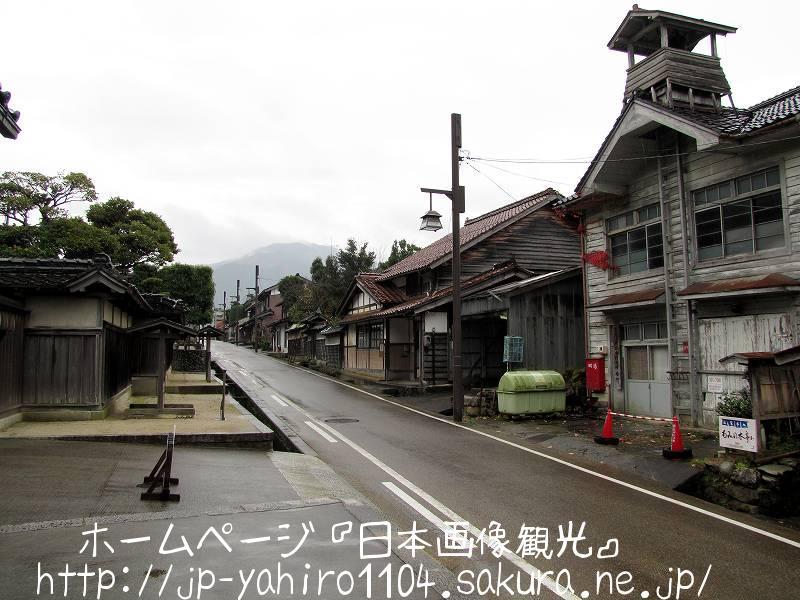 鳥取・智頭宿の町並み1
