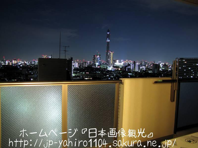 東京・スカイツリー夜景2