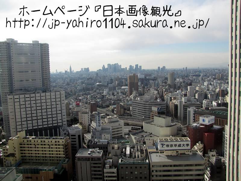 東京・サンシャイン60から見た風景