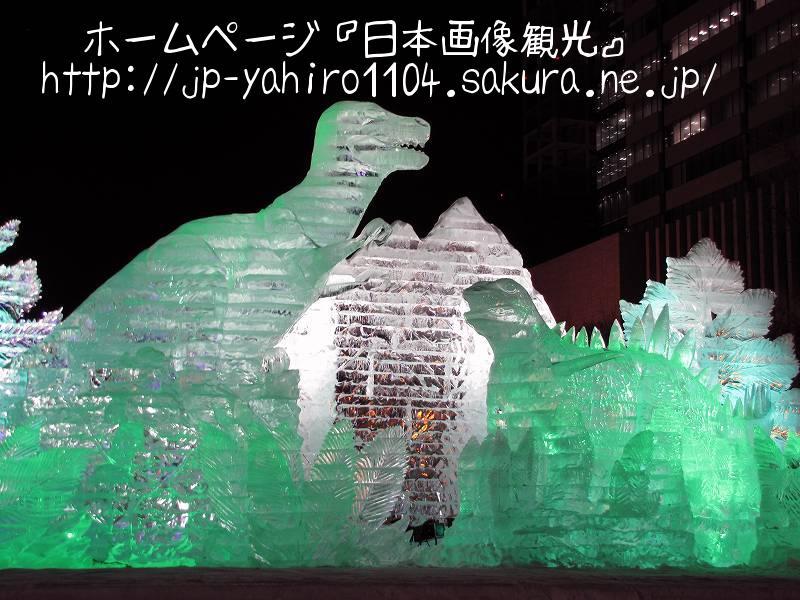 北海道・夜の札幌雪まつり4