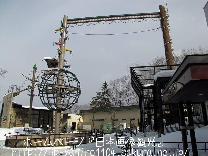 北海道・旭山動物園のおらんうーたん館1