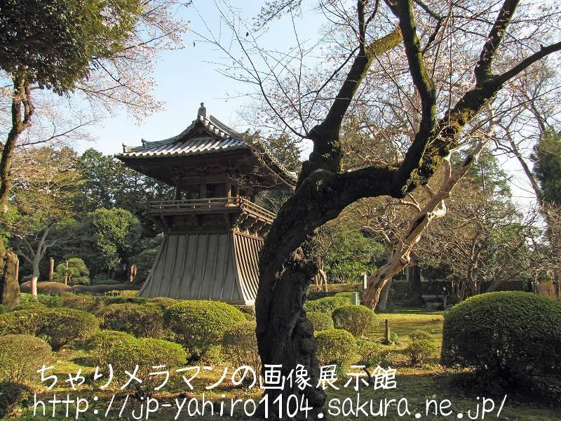 栃木・足利の鑁阿寺(鐘楼)