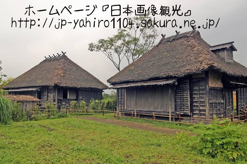 山形・映画『蝉しぐれ』撮影セット(おふくの家と牧文四郎の家)