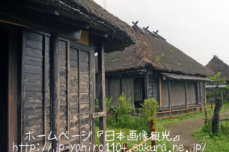 山形・映画『蝉しぐれ』撮影セット(牧文四郎の家とおふくの家)1