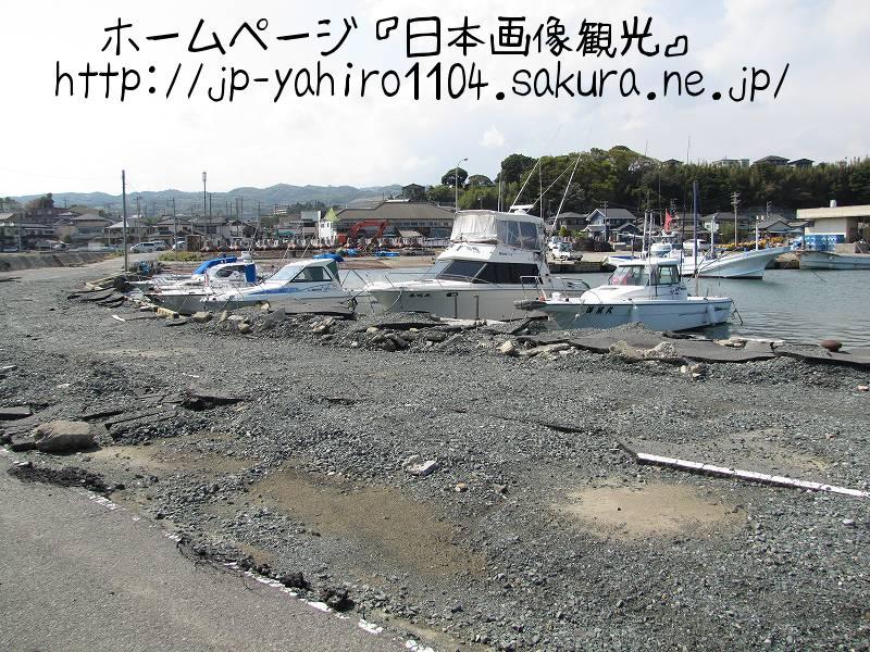 茨城・東日本大震災の爪痕2 日立市会瀬漁港2