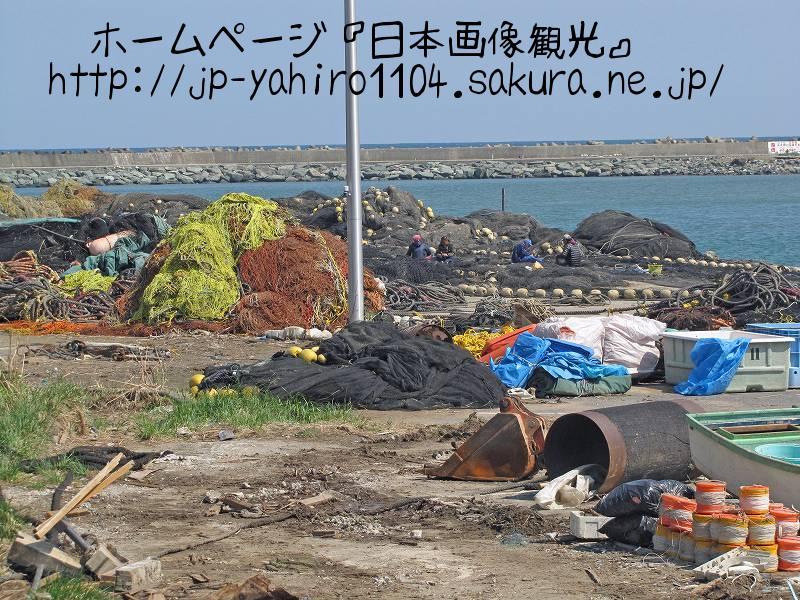 茨城・東日本大震災の爪痕2 日立市会瀬漁港1