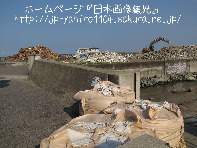 茨城・東日本大震災の爪痕2 日立市河原子漁港1