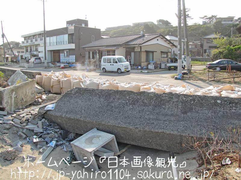 茨城・東日本大震災の爪痕2 日立市河原子漁港2