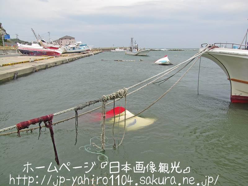 福島・漁船が打ち上げられた四倉漁港