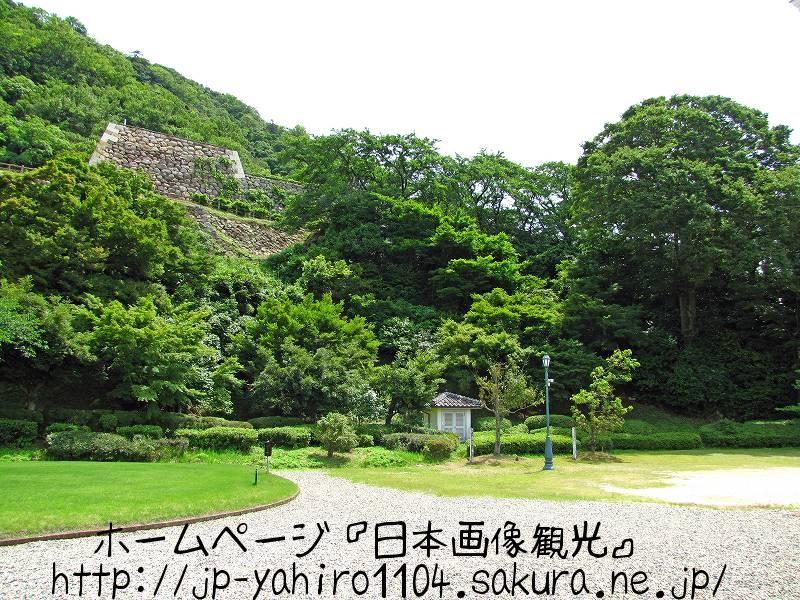 鳥取・鳥取市の展望台、鳥取城跡1