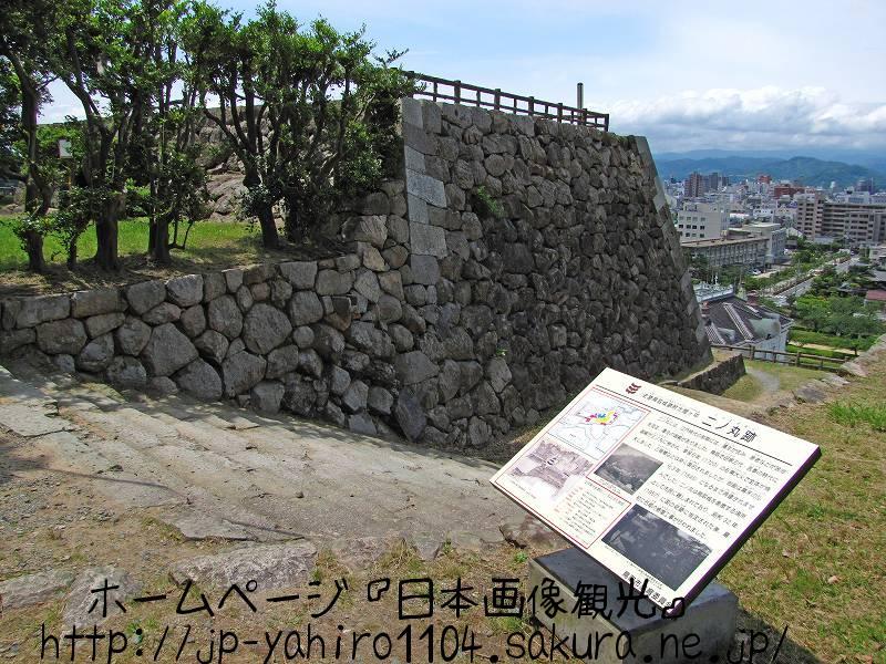 鳥取・鳥取市の展望台、鳥取城跡2