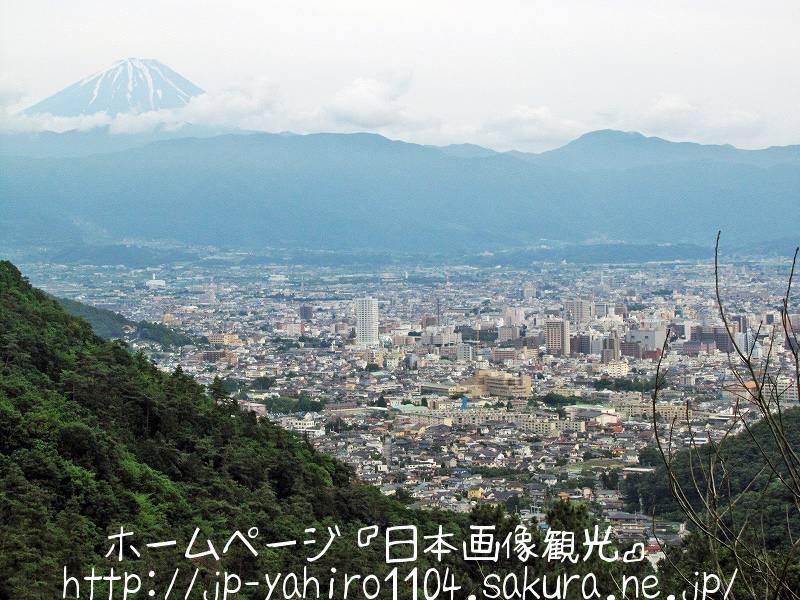 山梨・富士山と甲府盆地