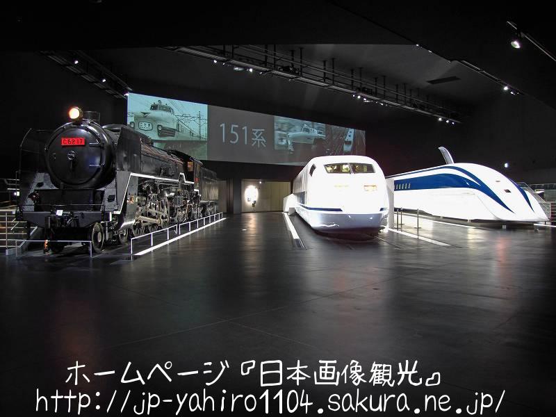 愛知・名古屋港のリニア・鉄道館1