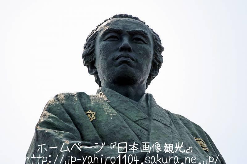 高知・桂浜の竜馬像1
