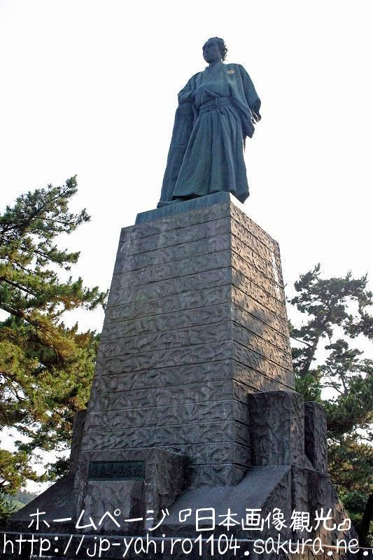 高知・桂浜の龍馬像2
