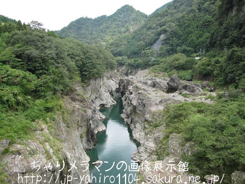 岐阜・飛騨の入り口、飛水峡